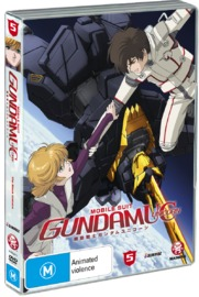 Mobile Suit Gundam Unicorn - Volume 5 on DVD image