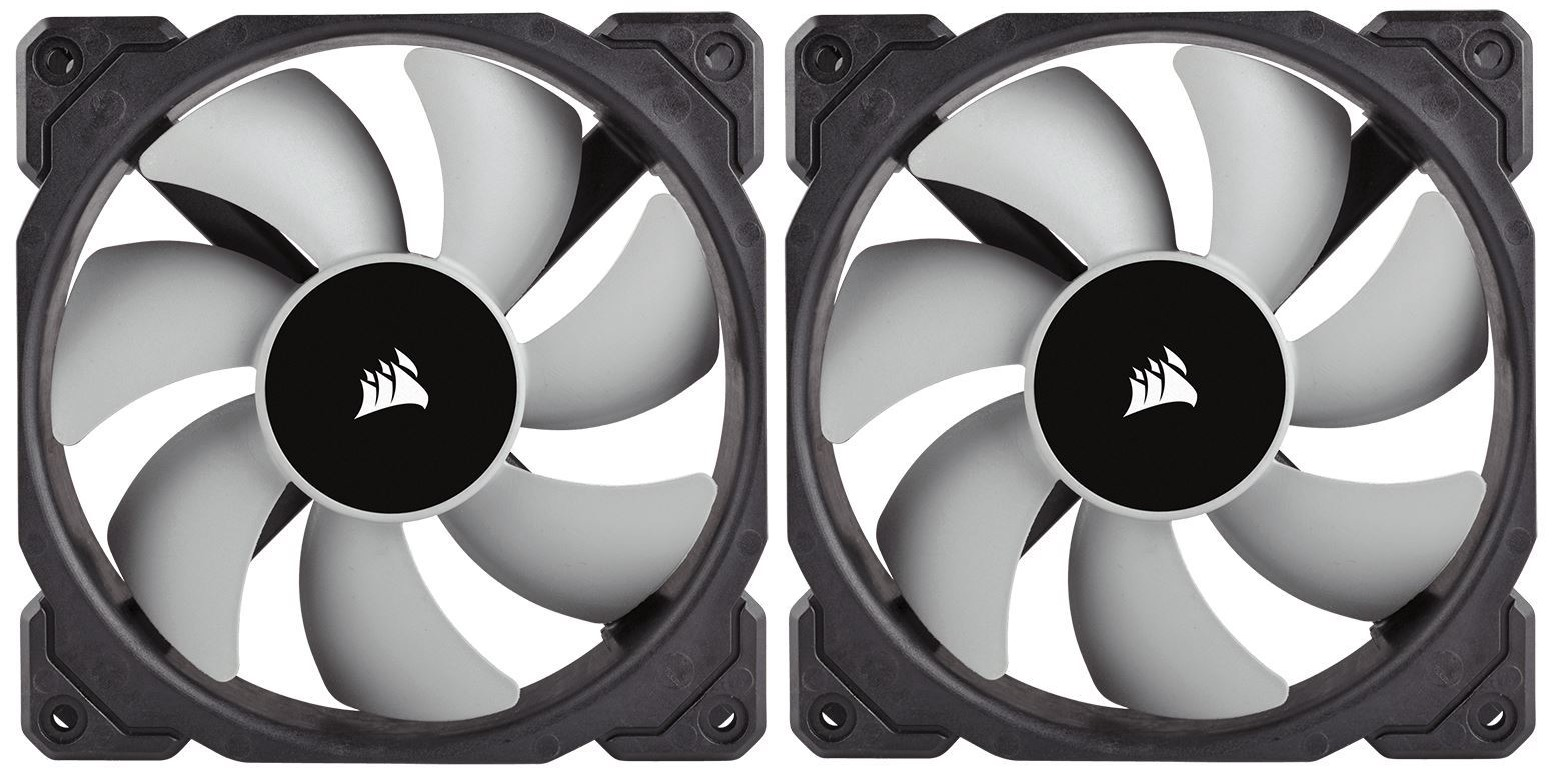 Corsair ML120 120mm Premium Magnetic Levitation Fan - Twin Pack image