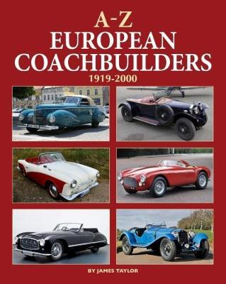A-Z of European Coachbuilders by James Taylor image