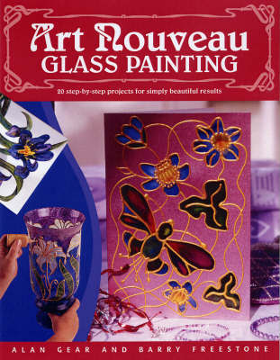 Art Nouveau Glass Painting by Alan Gear