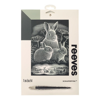 Reeves: Silver Scraperfoil - Rabbits