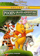 Winnie The Pooh - Pooh's Grand Adventure - The Search for Christopher Robin on DVD