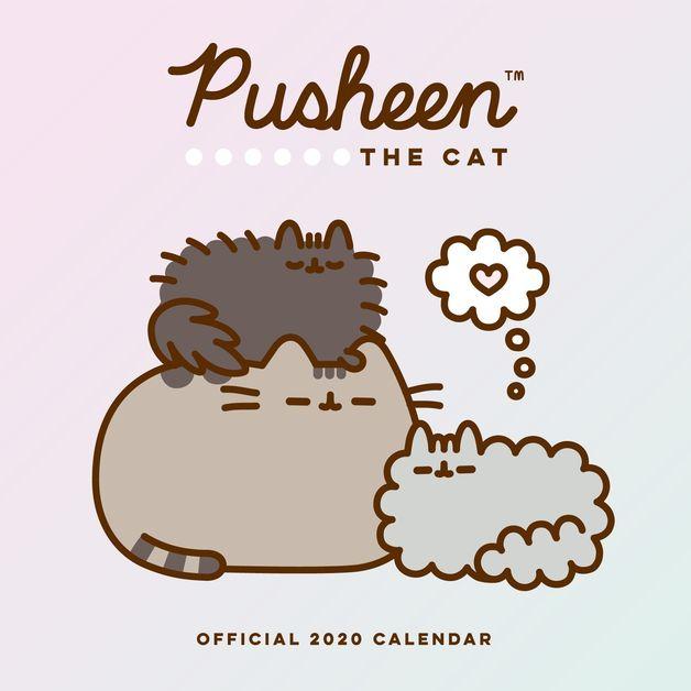 Pusheen 2020 Square Wall Calendar
