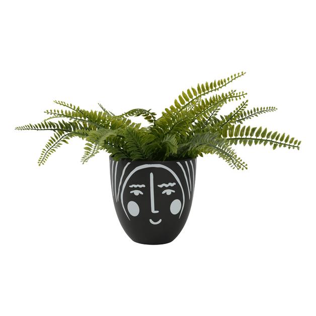 Habitat 101: Francesca Face Pot - Look 4 (14x14cm)
