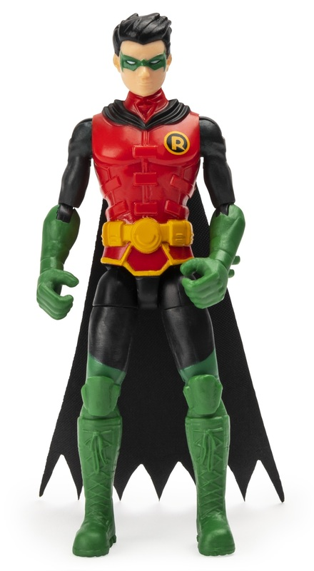 DC Comics: Robin - Mystery Mission Figure