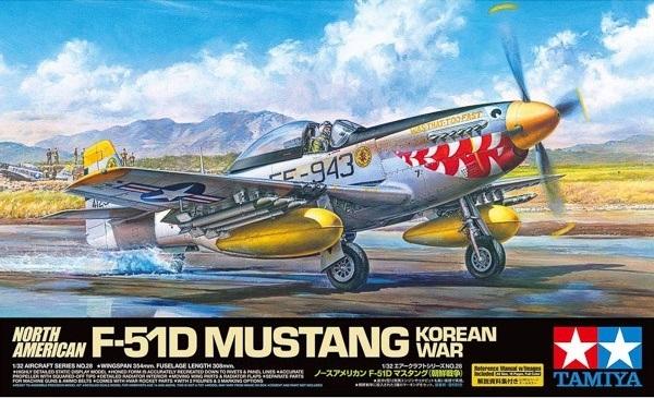 Tamiya 1/32 North American F-51D Mustang Korean War - Model Kit