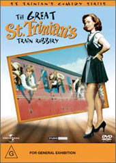 The Great St. Trinian's Train Robbery on DVD