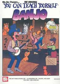 You Can Teach Yourself Banjo by Janet Davis image