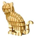 Ki-Gu-Mi: 3D Puzzle - Cat