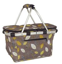 Shop & Go: Insulated Carry Basket - Leaf