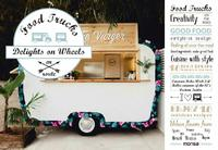 Food Trucks: Delights On Wheels by Patricia Martinez