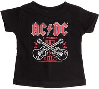 Sourpuss AC/DC Rock N Roll Kids Tee (5T)