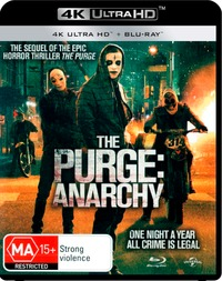 The Purge: Anarchy on UHD Blu-ray