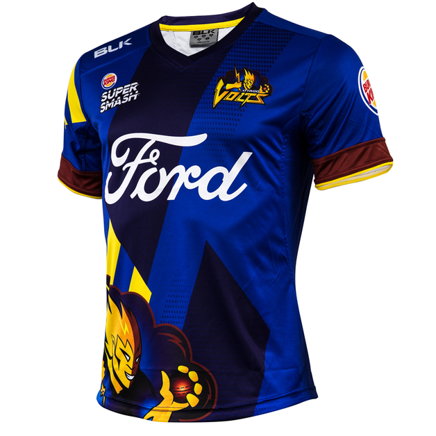 Otago Volts Replica 2017/18 Playing Shirt (XXL)