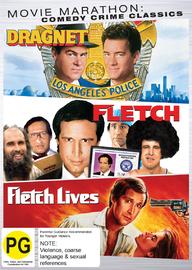 Movie Marathon: Comedy Crime Classics Triple Pack (Fletch / Fletch Lives / Dragnet) on DVD