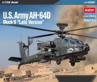 Academy 1/72 Us Arm Ah-64D Scale Model Kit