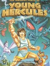 Amazing Feats of Young Hercules, The (Animated) on DVD