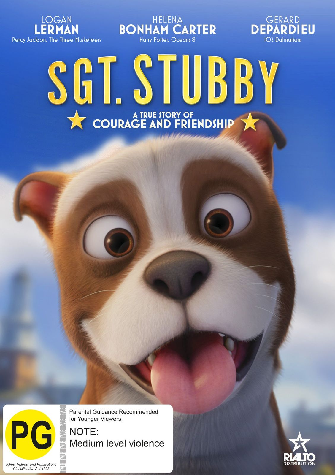 Sgt. Stubby on DVD image