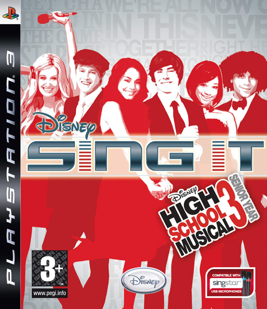 Disney: Sing It High School Musical 3 (Game Only) for PS3 image