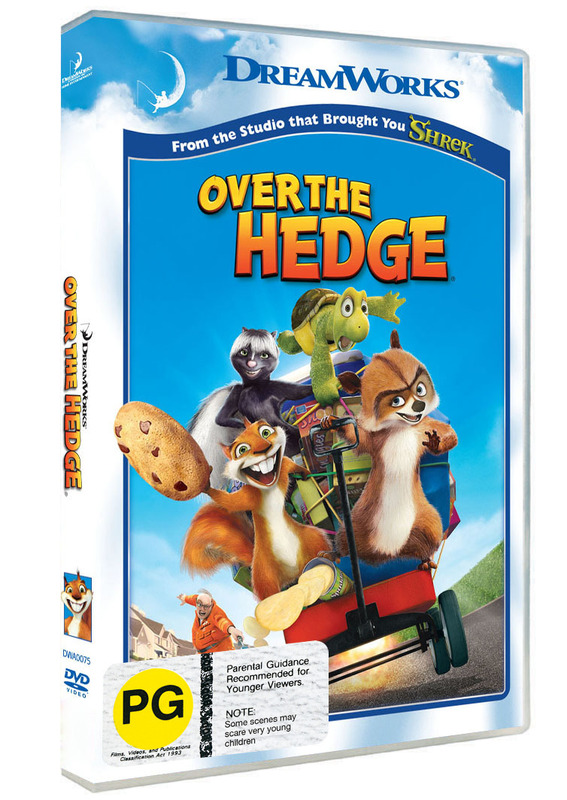 Over The Hedge on DVD