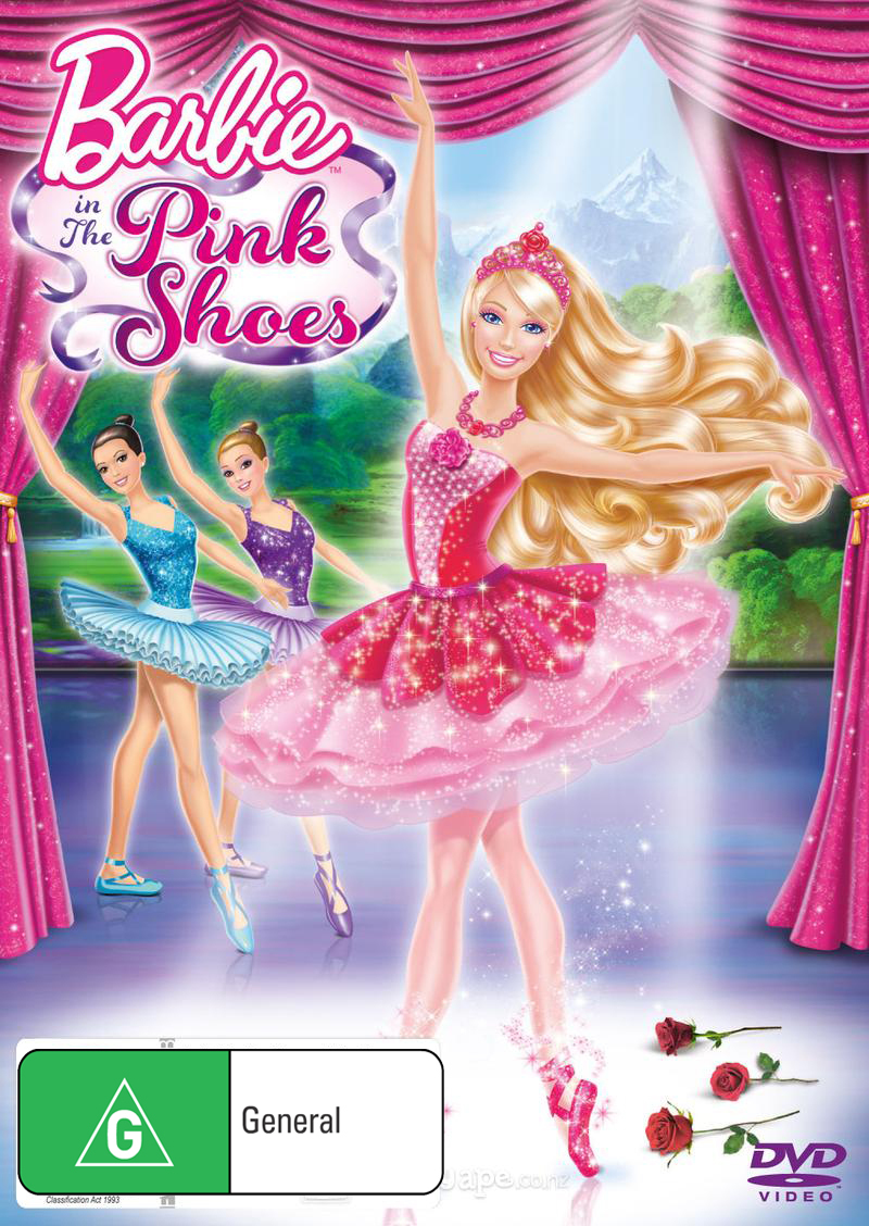 Barbie In The Pink Shoes on DVD image