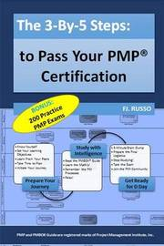 The 3-By-5 Steps: To Pass Your Pmp Certification by Fj Russo image