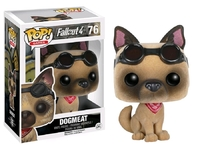 Fallout - Dogmeat Flocked Pop! Vinyl Figure