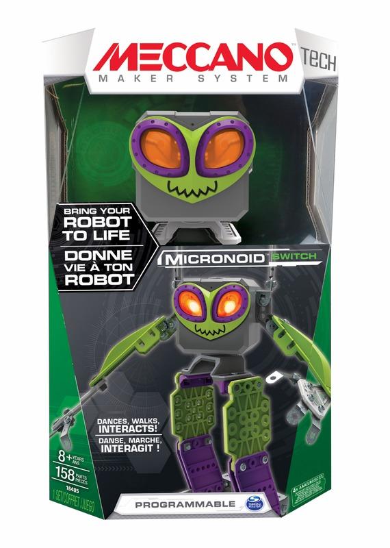 Meccano: Green Micronoid - Switch
