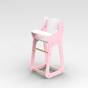 Moover Baby High Chair - Pink | Toy at Mighty Ape NZ