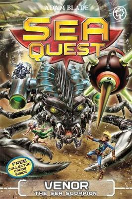 Sea Quest: Venor the Sea Scorpion by Adam Blade image