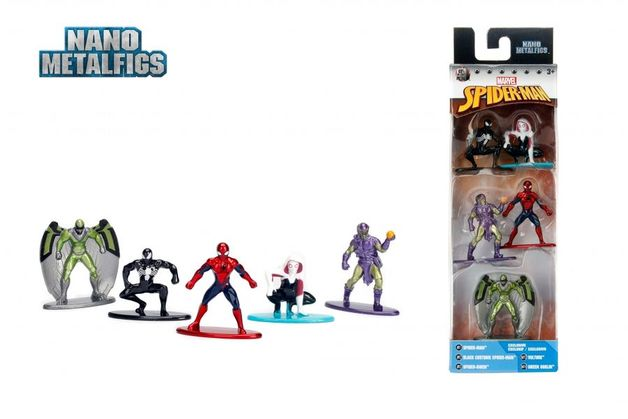 Jada Metal Minis: Marvel - Nano Metalfigs 5-Pack #1