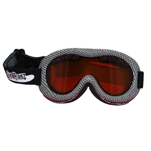 Banz Ski Goggles - Frostbite Black