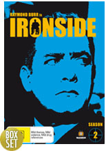 Ironside - Complete Season 2 (7 Disc Box Set) on DVD