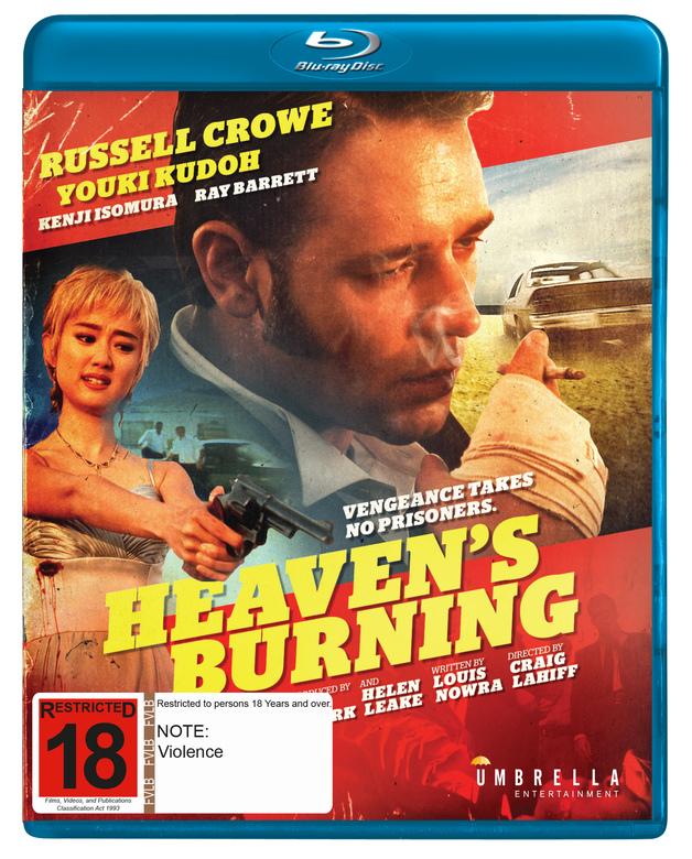 Heaven's Burning on Blu-ray