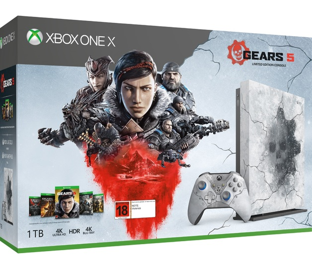 Xbox One X 1TB Gears 5 Limited Edition Console Bundle for Xbox One