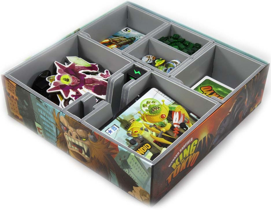 Folded Space: Game Inserts - King of Tokyo image