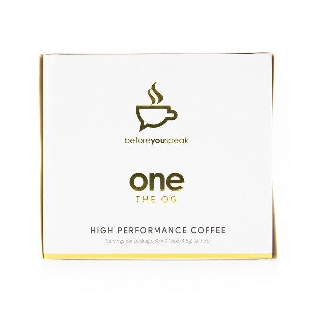 Before You Speak: High Performance Coffee - Original (30 x 4.5g)
