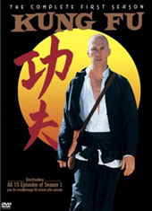 Kung Fu Complete First Season (3 Disc Set) on DVD