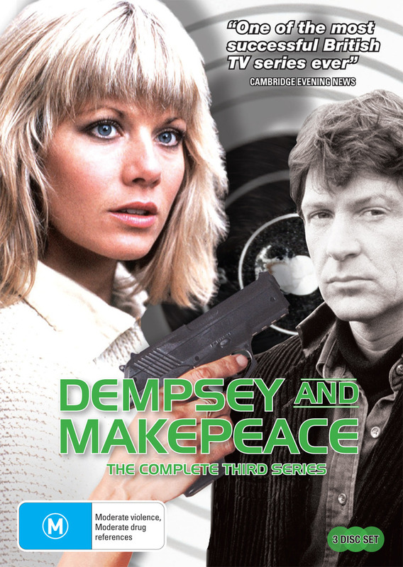 Dempsey And Makepeace - The Complete 3rd Series (3 Disc Set) on DVD