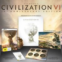 Sid Meier's Civilization VI 25th Anniversary Limited Edition for PC Games
