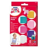 Staedtler Fimo Kids Modelling Clay - Glitter Colors (Set Of 6)