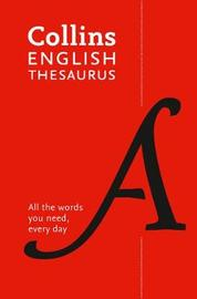 Collins English Thesaurus Essential by Collins Dictionaries