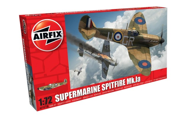 Airfix 1:72 Supermarine Spitfire Mk.Ia Scale Model Kit