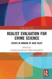 Realist Evaluation for Crime Science image