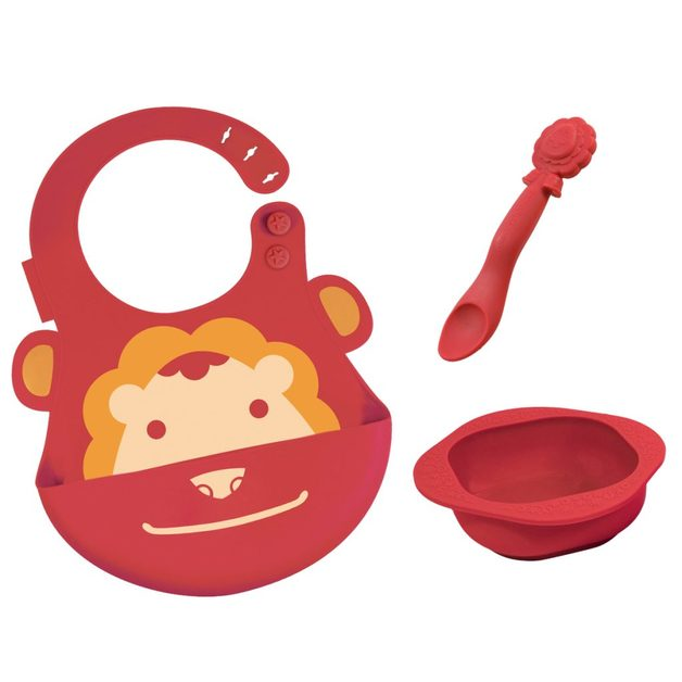 Marcus & Marcus: Baby Feeding Set - Lion