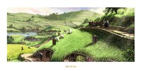 "Lord of the Rings: Disturber of the Peace 23"" Art Print - by Weta"