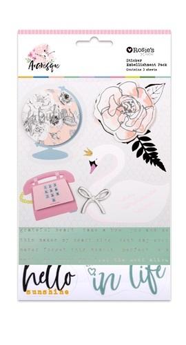 Rosie's Studio: Arabesque Sticker Embellishment Pack