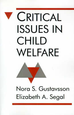 Critical Issues in Child Welfare by Nora S. Gustavsson image