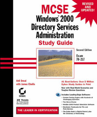MCSE: Windows 2000 Directory Services Administration Study Guide: Exam 70-217 by Anil Desai image