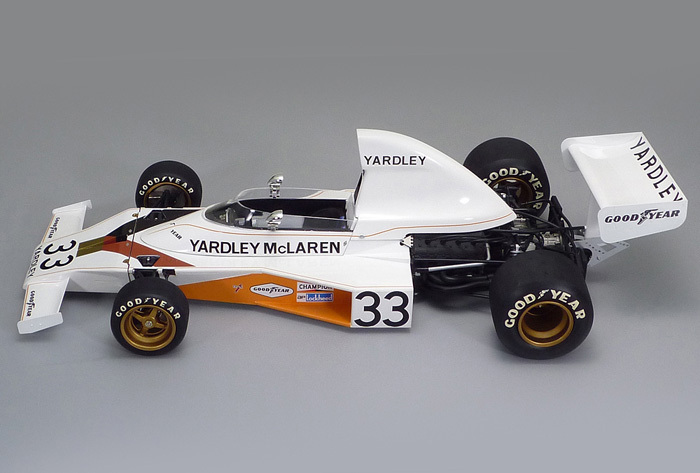 Mclaren Kit Car >> Tamiya Yardley McLaren M23 1974 Formula 1 Car 1/12 Model Kit Images at Mighty Ape Australia